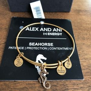Alex and Ani Seahorse Bangle